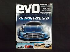 EVO MAGAZINE ISSUE 130 MAY 2009. ASTON MARTIN ONE77. GOLF GTI MK6. GALLARDO.