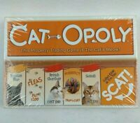 CAT-OPOLY Board Game, Monopoly Themed Boardgame, Game Featuring Cats New Sealed