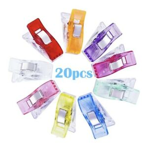 20 PCS wonder clips for sewing quilting knitting crochet craft UK SELLER