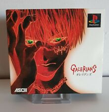 PS1 GALERIANS Limited Edition with SPINE CARD * Playstation 1 Japan Game  A2652