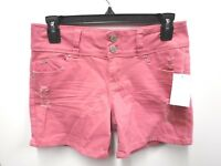 YMI Junior Womens Size 3 Rose Bloom Wanna Betta Butt Stretch Shorts New