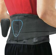 Sparthos Back Brace Innovative Back Pain Relief Removable Lumbar Pad Size: XXL