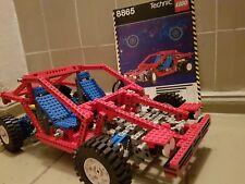 """LEGO 8865 TECHNIK """" TEST CAR"""" OBA RENNWAGEN VON 1988 AUTO JEEP TESTAUTO CAR"""