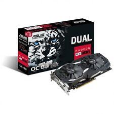 Componente PC ASUS grafica Dual-rx580-o8g