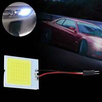 48SMD COB LED T10 4W 12V White Light Car Interior Panel Lights Dome Lamp Bulb Dr