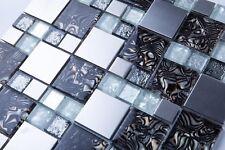 Piastrelle di vetro bianco per pavimenti per il bricolage e fai da