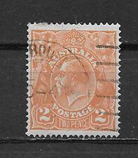Australia , George V , 1920 , No. 27 , 2p Stamp , Perf , Used