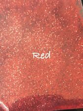 10g Red Glitter Dust. Bath Bombs. Soap. Cosmetics. Nails. Crafts.