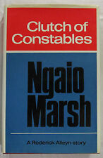 Clutch of Constables Ngaio Marsh 1st Ed HCDJ 1968  Roderick Alleyn Mystery VG
