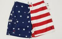 NWT POLO RALPH LAUREN MENS FLAG SWIM Shorts TRUNKS , #26