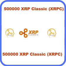 500,000 XRP-Classic (XRPC) MINING-CONTRACT (500,000) Crypto Currency