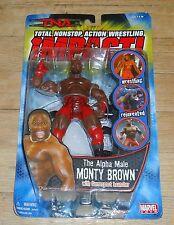2005 NWA TNA Impact Marvel Alpha Male Monty Brown MIP Wrestling Figure WWF WWE