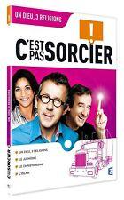 """DVD """"C'est pas sorcier : UN DIEU, 3 RELIGIONS""""   NEUF SOUS BLISTER"""
