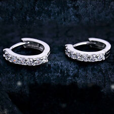 Hermoso Mujer Chica Aretes Pendientes Cristal Earrings Regalo