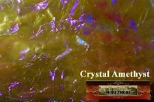 M00097 Morezmore Angelina Fantasy Film Crystal Amethyst Heat Bondable 10'