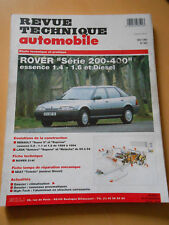 RTA revue technique n° 562 ROVER 200 / 400 ESSENCE 1.4 / 1.6 et diesel