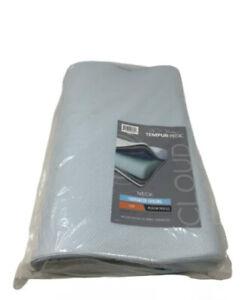 Tempur-Pedic 15386115- TEMPUR-Ergo Neck Pillow, Medium Cooling, Memory Foam Blue
