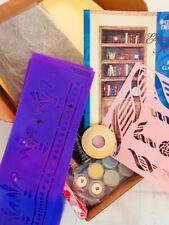 Plaid Stencil Decor Elegant Home w/ Jane Gauss Stenciling Kit + Extras