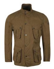 Barbour International Lockseam Jacket Dark Sand Size XL Extra Large