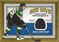 2006-07 Beehive Matted Materials #MMLE Jere Lehtinen Jersey - NM-MT