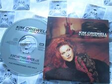 Kim Criswell If She's Not There Anymore EMI Record CDEMDJ 321 UK Promo CD Single