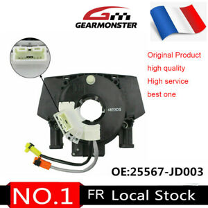 25560-JD003 Pour Nissan Qashqai J10 350Z 370Z Murano Contacteur Tournant Airbag