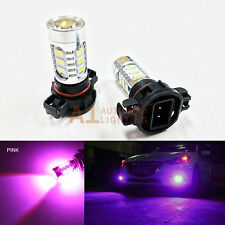 2x Pink H16 5202 9009 15w High Power Bright Car LED Bulbs 5730 15-SMD Fog light