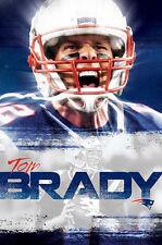 Tom Brady INTENSITY New England Patriots QB NFL Football Official WALL POSTER