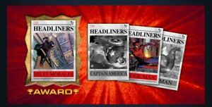 Topps Marvel Collect HEADLINERS  (26 CARDS)