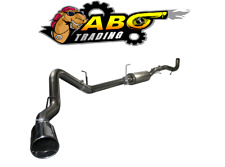 """aFe For GMC 6.6L (td) LML Large Bore-HD 4"""" 409 SS down-Exhaust System - 49-44032"""