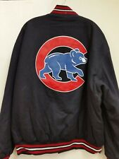 MLB Chicago Cubs Embroidered Reversible Jacket by JH Designs (4XL)