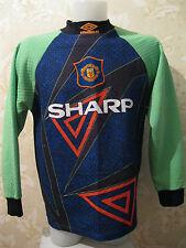 Manchester United 1994/1995/1996 Goalkeeper M shirt jersey maglia Schmeichel era