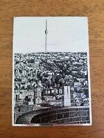 Vintage STUTTGART Germany Silver Foil Postcard