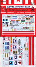 AMT 1/25 Custom & Competition Decals Big Rig Graphics DECAL SET 022