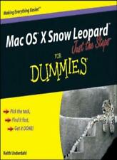 Mac OS X Snow Leopard Just the Steps For Dummies,Keith Underdahl