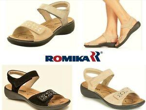 Romika shoes Germany  Orthotic friendly comfort leather Sandals Romika Ibiza 98