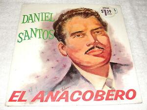 "Daniel Santos ""El Anacobero"" 1960's Latin LP, SEALED!, Orig Tropical Pressing"
