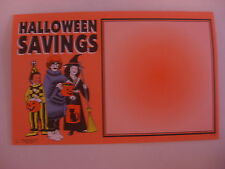 Halloween Retail Price Card  Fresh 7 x 11 inch 100 cards shrink wrapped Reg. $15