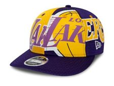 New Era - NBA LA Los Angeles Lakers Snapback 9FIFTY  Low Profile Cap S/M Neu