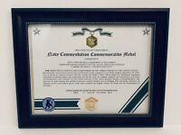 Military Commemorative ~ NAVY COMMENDATION COMMEMORATIVE MEDAL CERTIFICATE