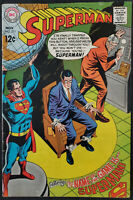 Superman #211 FN/VF 7.0 | 1968 Silver Age DC Comics Nice Copy!