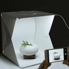 """9"""" Mini Portable Photography Lighting Room Tent Photo Studio LED Light Cube Box"""