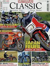 Motorrad Classic 5/05 2005 Honda CB1100R BSA Gold Star Motom Suzuki GT750 RD 250