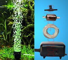 TOP Aquarium Deko 🍀 LED SPRUDLER SET DAYLIGHT 🍀 ➕ Luftpumpe ➕ Zubehör (0VO)