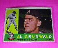1960 Topps #427 Al Grunwald Athletics NmMt High Grade Sharp!