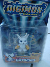 "Digimon Gatomo Action Figure new 2.5"" Toy  Digital Monster Waving arm &Winking"