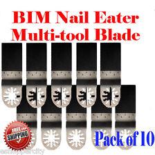 10 Nail Eater Oscillating Multi Tool Saw Blade For Ridgid Ryobi Craftsman Jobmax