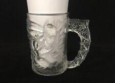 1995 Collectible Mcdonalds Batman Forever Glass Mug Iced Unique USA -804 #618