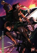 Attack on Titan Shingeki no Kyojin YAOI Doujinshi Dojinshi Erwin x Levi Hange Up