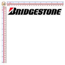 bridgestone size cm. 25 sticker adesivi motocycle sponsor decal print pvc 1 pz.
